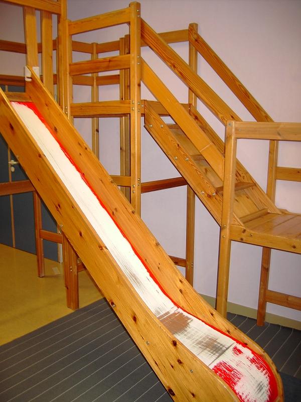 Indoor Rutsche streichen lage und ausstattung